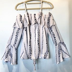NWOT BCX Off the Shoulder Blouse / Small